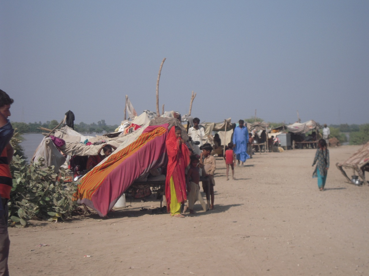 The khana badosh community who are receiving no government assistance